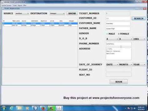 swing projects in java airline reservation system in java with mysql jdbc s