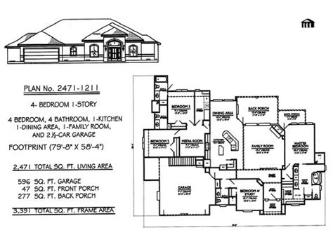 4 bedroom one story house plans 1 story 4 bedroom house plans 4 bedroom house house plans 1 story treesranch