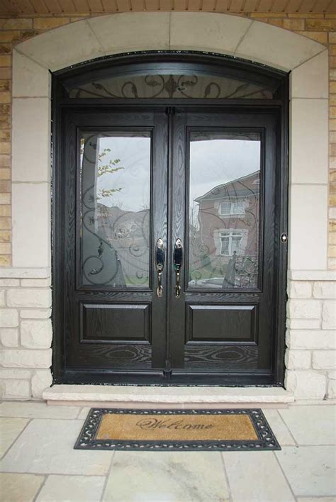 Finding The Perfect Fiberglass Front Doors With Glass Glass Exterior Door