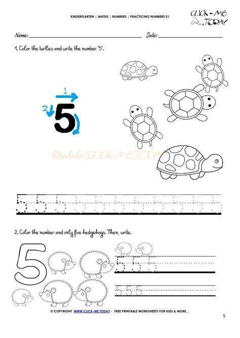 printable tracing number 5 tracing numbers worksheets number 5