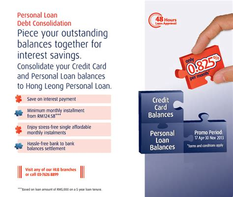 hong leong bank housing loan calculator hong leong debt consolidation promotion pinjaman peribadi