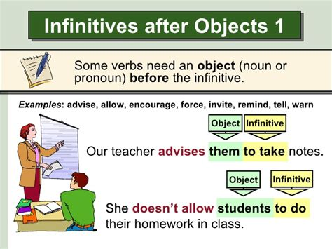 gerund or infinitive do to do doing page 3 of 4 infinitives after certain verbs