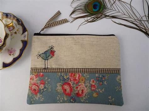 Handmade Makeup - handmade cosmetic makeup bag purse cath kidston slate