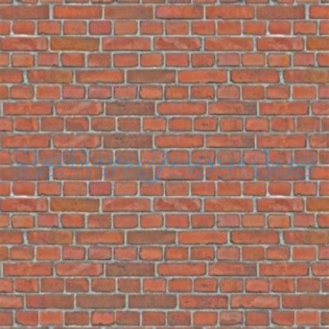 Paper Brick - aged brick paper texture sheet railwayscenics