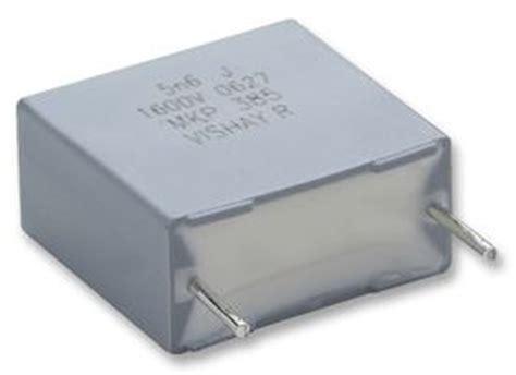 polypropylene capacitor farnell bfc238580222 vishay capacitor 2200 pf 2 kv pp polypropylene 177 5 mkp385 series