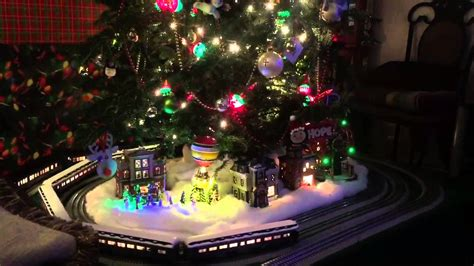 polar express christmas tree train set tree american flyer polar express flyerchief s set o lionel set
