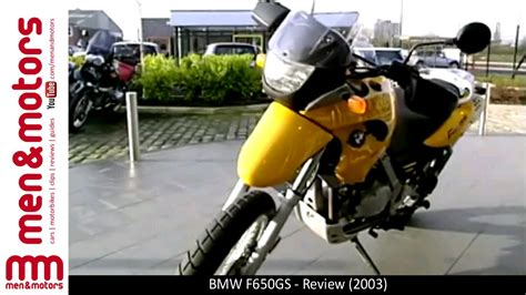 bmw f650gs review bmw f650gs review 2003