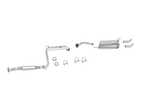 1991 Toyota Exhaust System 1988 1991 Toyota Camry 2 5l Muffler Exhaust System Federal