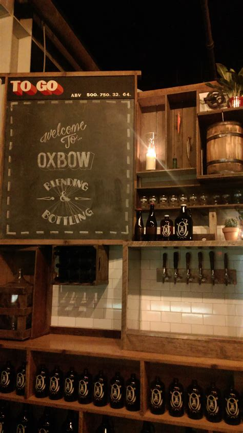 oxbow tasting room look at oxbow s portland tasting room mainetoday