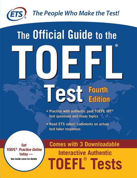 toefl test the official guide to the toefl test fourth edition book