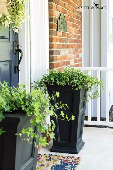 Planter Ideas For Front Doors by 10 Best Ideas About Front Door Planters On