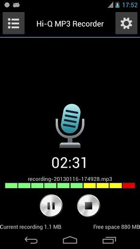 hi q mp3 recorder apk apk audio hi q mp3 voice recorder apk free
