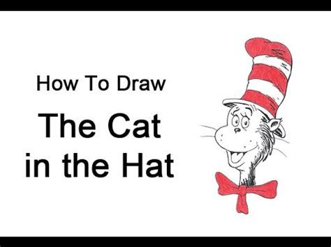 doodle cat how to make a hat how to draw the cat in the hat
