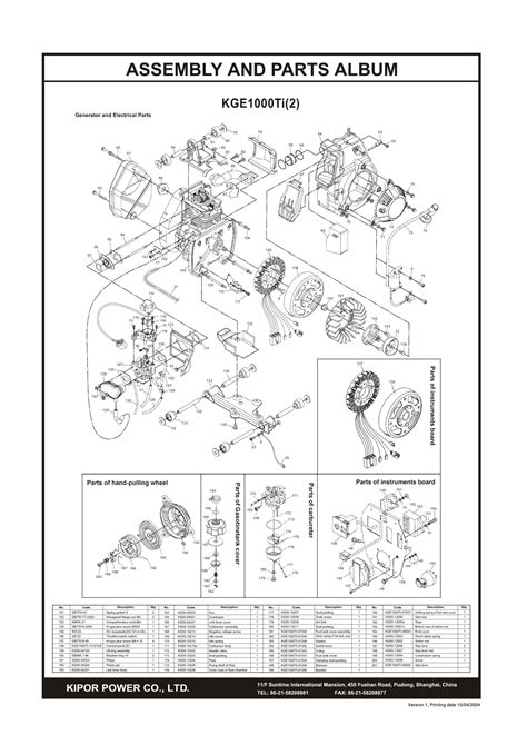 kipor generator wiring diagram wiring diagram with
