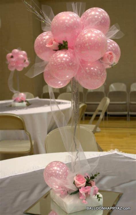 balloons for wedding on pinterest wedding balloons rose balloon topiary centerpiece http balloonhappyaz com