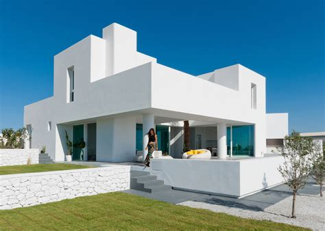 houses with in suites white santorini house is ready for summer curbed
