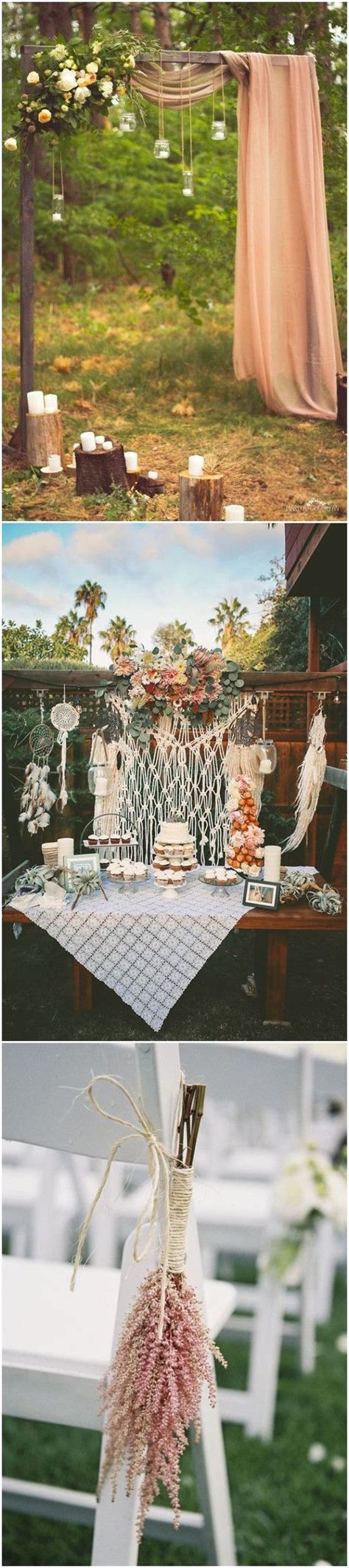 20  Gorgeous Boho Wedding Décor Ideas on Pinterest   Diy