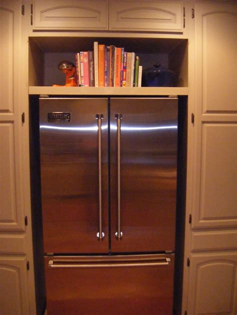 above refrigerator storage cookbook storage above refrigerator home ideas