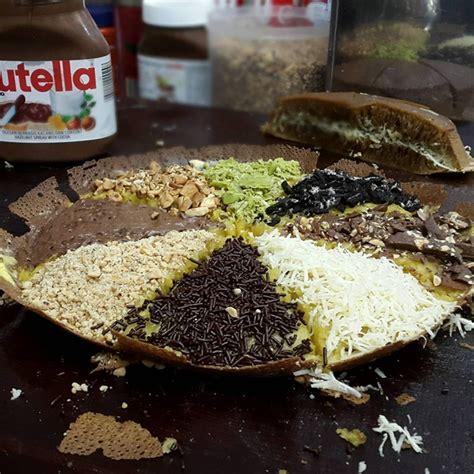 Resep Membuat Martabak Hitam | resep martabak ketan hitam manis topping keju nutella