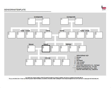 Genogram Template Free by 40 Genogram Templates Pdf Doc Psd Free Premium