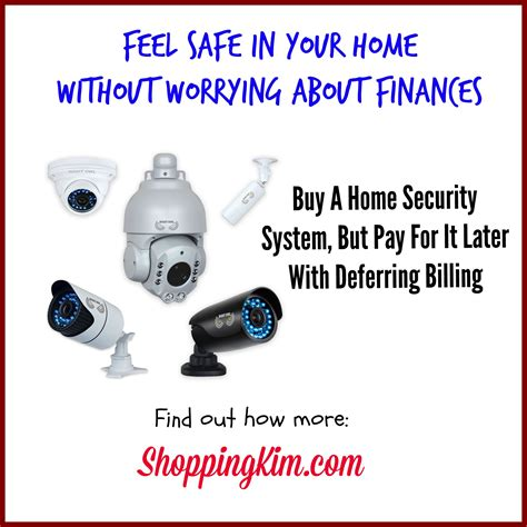 buy home security system now pay later shopping