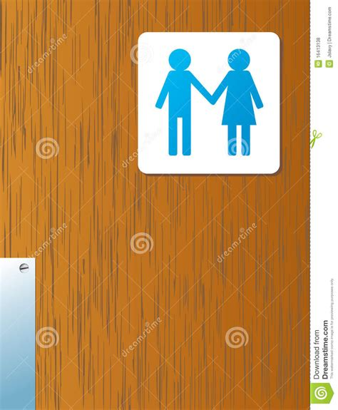 bathroom man and woman bathroom man and woman royalty free stock photos image 16413138