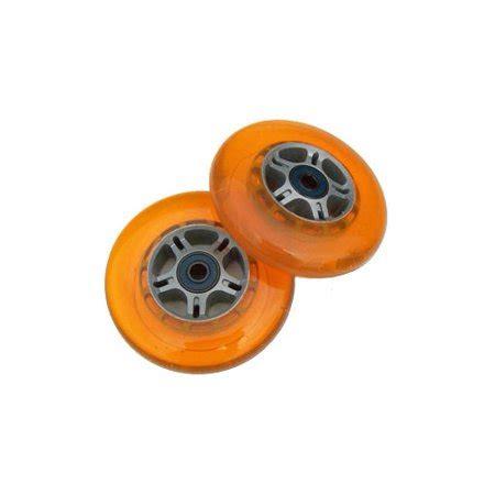 Set Of 2 Razor set of 2 orange replacement scooter wheels for razor