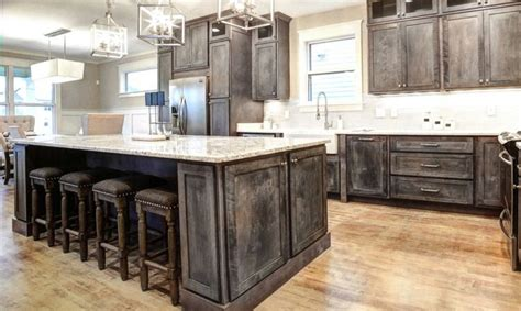 ideas  rustic kitchen cabinets  pinterest