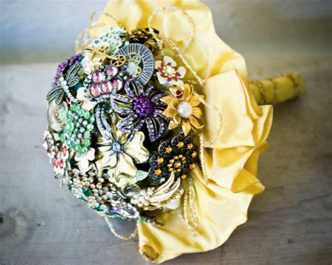 Handmade Brooch Bouquet - diy brooch bouquet emmaline