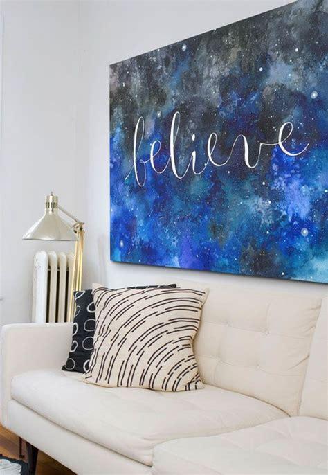 Watercolor Wall Diy
