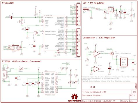 how to read a schematic learn sparkfun