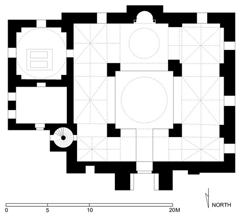 floor plan of a mosque jami taynal floor plan of taynal mosque tripoli archnet