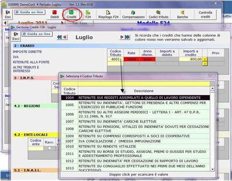 codice sede inps f24 f24 guida