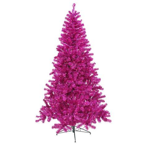 7 foot magenta christmas tree purple mini lights