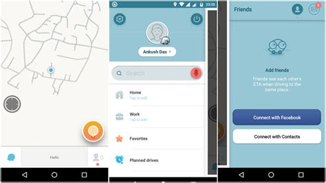 waze app for android best navigation apps for android ubergizmo