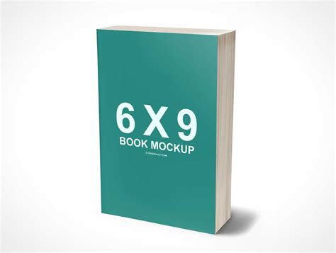 3d picture book 6 x 9 mass market psd mockup paperback 3d book psd mockups