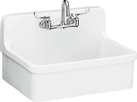 Kohler Gilford Sink Midcentury Utility Room Sinks By Kohler Laundry Room Sink