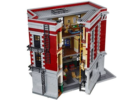 Lego Ghostbusters House by Lego Ghostbusters Firehouse Headquarters 75827 Shop Ghostbusters Fans