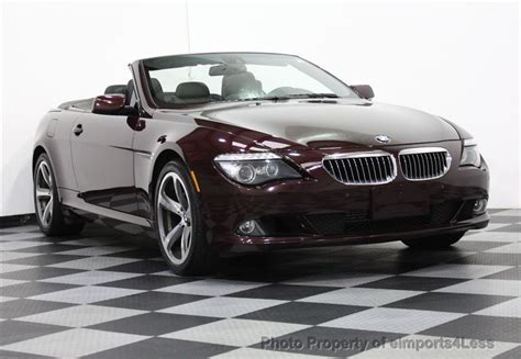 2008 bmw 650i 2008 used bmw 6 series 650i sport convertible at