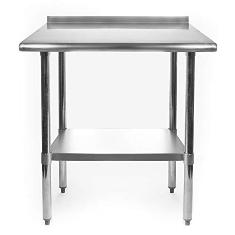 Stainless Kitchen Work Table Gridmann Stainless Steel Commercial Kitchen Prep Work Table Import It All