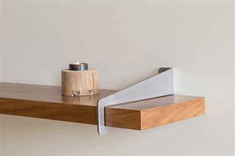 bracket bookshelves wall stirrup shelf brackets modern display and wall shelves portland by quartertwenty 174