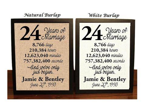 24th wedding anniversary 24 year wedding anniversary 24th