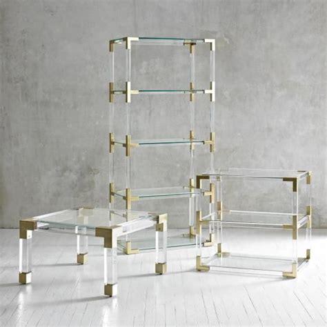 Acrylic Furniture Touches Simpleandcozylifestyle Lucite Bookshelves