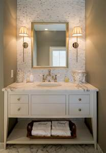guest bathroom design ideas guest bathroom monogram towels better decorating bible