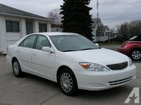 2002 Toyota Camry Xle 2002 Toyota Camry Xle For Sale In South Bend Indiana