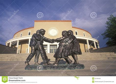 new mexico state capitol editorial stock image image of state capitol of new mexico editorial image image 23166455