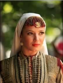 Traditional Macedonian Woman