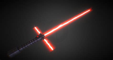 3d wars vii sith lightsaber by gravitybwlast on