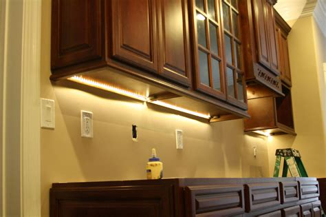 lights for kitchen cabinets cabinet lighting options designwalls