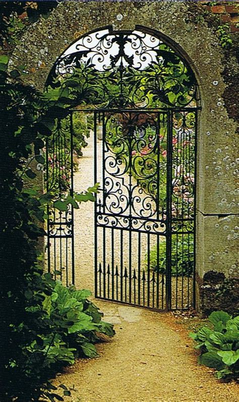 Iron Garden Gates by Garden Order Trouvais